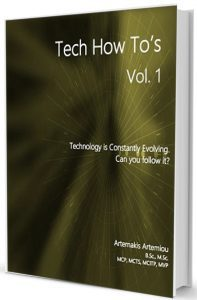 Tech How To's Vol. 1 - Technology eBook by Artemakis Artemiou