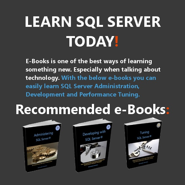 High Quality SQL Server eBooks by MVP Artemakis Artemiou