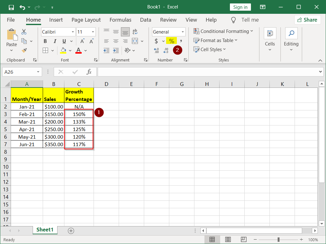 How to Use a Percentage Formula in Excel - Article on TechHowTos
