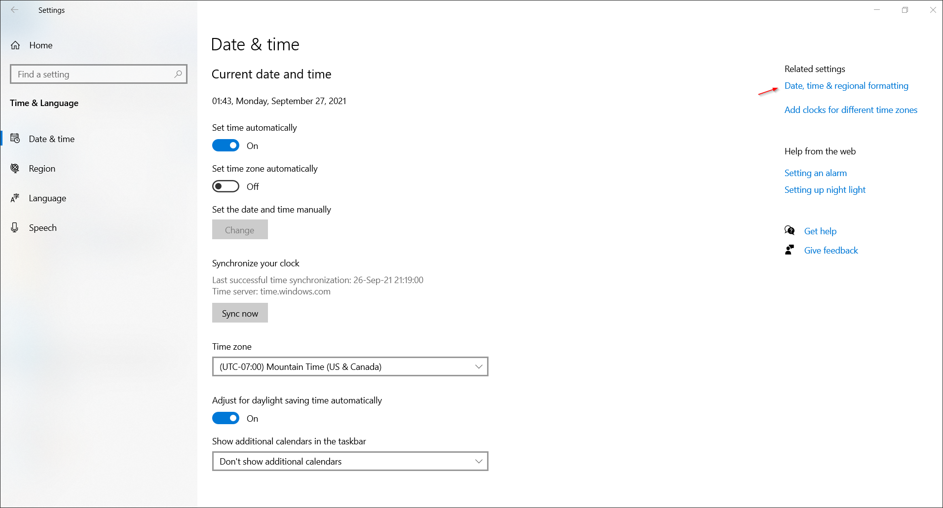 How to Change Time and Date Format in Windows 10 - Article on TechHowTos.com